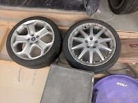 """Ford wheels 18"""" 225/45/18 tyres"""