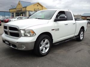 2015 RAM 1500 SLT QUADCAB 4X4 DIESEL 6.6FT BOX