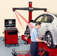 LASER WHEEL ALIGNMENT (4 WHEEL ALIGNMENT) FROM $59.99+TAX