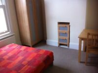 Nice double room in professional non-smoking flat share