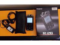 Roland R-26 - 6 Channel Field Recorder