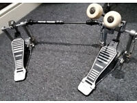 Premier Double Bass Pedal, Twin Chain Drive
