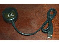 Xbox Original Usb Memory Card Reader Adapter Lead Xploder Game Saves