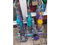 6 x dyson 07's plus 2 motor units joblot spares