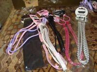 Job lot. A small bundle of headbands, 9 total.