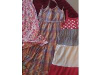 Girls dresses (2 maxi and 4 normal) age 12