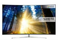 """Samsung 49"""" Curved UE49KS9000 UHD HDR 4K Smart LED TV Voice Control Activated"""