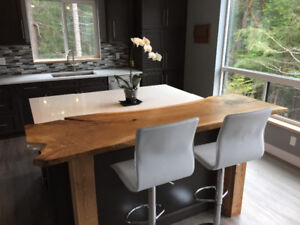 Stunning Live Edge Slab Dining Tables-Locally made!
