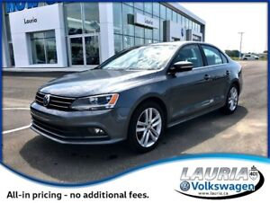 2015 Volkswagen Jetta 2.0 TDI Highline Manual - Leather / Sunroo