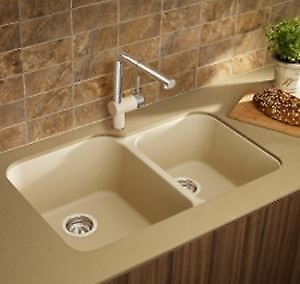 BRAND NEW BLANCO SINK - BISCOTTI