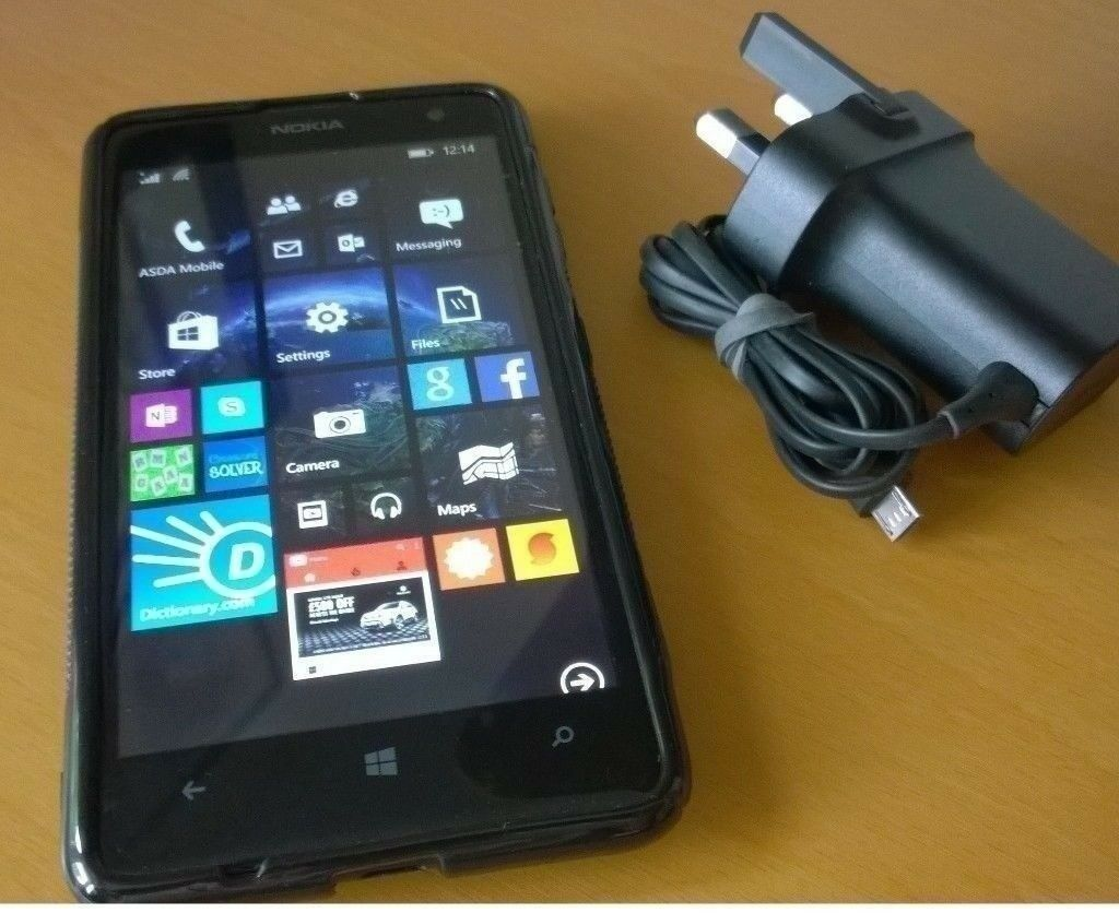 Nokia Lumia 625in Sunniside, Tyne and WearGumtree - Nokia Lumia 625 Windows 8.1 smartphone in mint condition and in perfect working order comes with charger and a soft gel cover. On the EE network and it also works with Orange, T mobile, Virgin, BTmobile and Asda Mobile