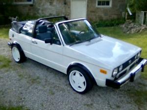 Classic 1984 VW Karmann Cabrio