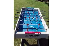 Riley 4ft folding azteca football table, NEW never been used!