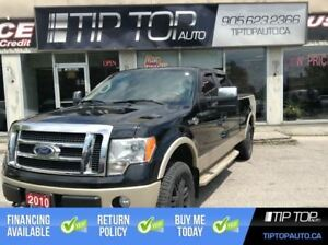 2010 Ford F-150 King Ranch ** Low Kms, LOADED, Nav, Sunroof **