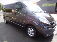 Finance me! NO VAT! Vauxhall Vivaro 2.0CDTi LWB Sportive panel vans 1 owner (8)