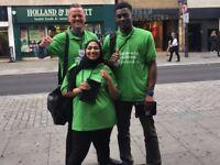 Travel UK FREE! Fundraiser - Street & Events £296-£441 Basic + Bonus, Immediate Starts Available