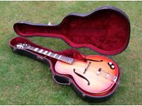 Aristone Archtop Guitar
