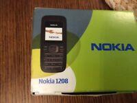 Nokia 1208 new in box orange