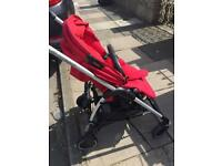Maxi cosi baby pram and car seat(including rain cover nd body cover