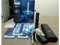 Oral B Genius 9000 Intelligent Bluetooth Electric Toothbrush + 11 Brush Heads