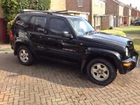 Jeep Cherokee Limited (top of range) 3.7 lt - 12 months MOT