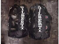 Revgear 12oz Enforcer Boxing Gloves and Revgear Gel Focus Mitts