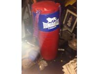 Lonsdale punching bag blue and red 4ft
