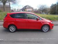 SEAT ALTEA XL 1.6 CR TDI SE DSG 5d AUTO 103 BHP (red) 2012