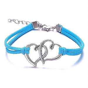 Colorful Bracelets with charm !