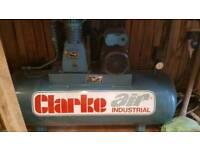 Clarke 150 ltr air compressor