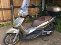PIAGGIO BEVERLY 300cc bronze spare or repair no offer not vespa liberty!!!