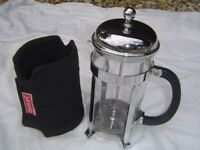 BODUM CAFETIERE - 8 CUP - WITH KEEP WARM BODUM JACKET