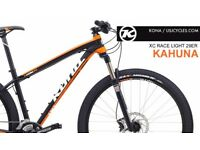 Kona Kahuna 29er 2015 Black/Orange