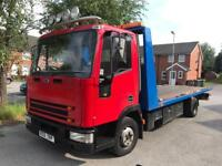 IVECO RECOVERY TRUCK TILT AN SLIDE £5000 PX TRANSIT RECOVERY