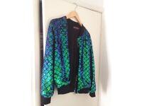 Sequin ladies festival jacket