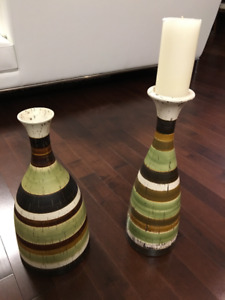 Decorative Vase and Candle Holder