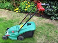 Qualcast Power Track 34 Rotary Electric Lawn Mower