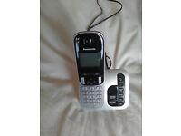 PANASONIC CORDLESS PHONE WITH ANSWERPHONE
