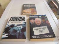WEST HAM UNITED HOOLIGAN BOOKS & DVD