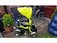 Smart Trike Baby Tricycle 3 wheel bike