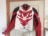 PROTO child's motorbike leather jacket size 14