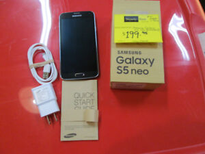 Samsung Galaxy S5 Neo For Sale at Nearly New in Port Hope!