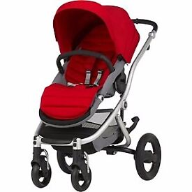 New Britax affinity 2 - silver - red -with warranty-Unwanted gift