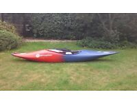 Perception kayak, Whip It, ideal club boat whitewater and river running,