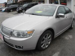 2008 Lincoln MKZ Grey Only 148,000km