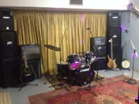 Band Rehearsal Space /  Live off the Floor Recording