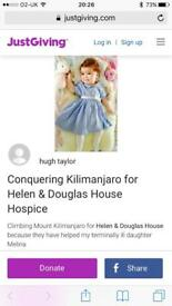 Donations for children's hospice