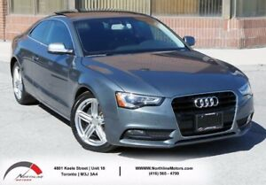 2013 Audi A5 Premium Plus | Blind Spot Monitoring | Sunroof