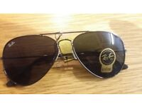 ray ban aviator black frame all design available