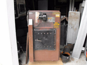 Newmac Furnace Wood / Electric combine
